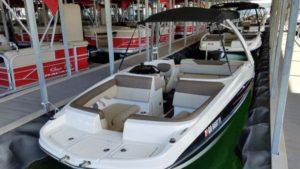 Renting boats in Key Largo